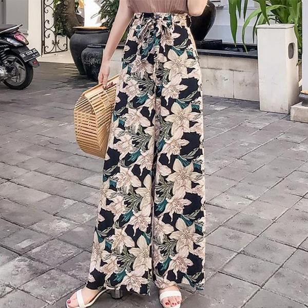 Pants Big Yards Bohemia Wide Leg Pants Fashion Beach Pants