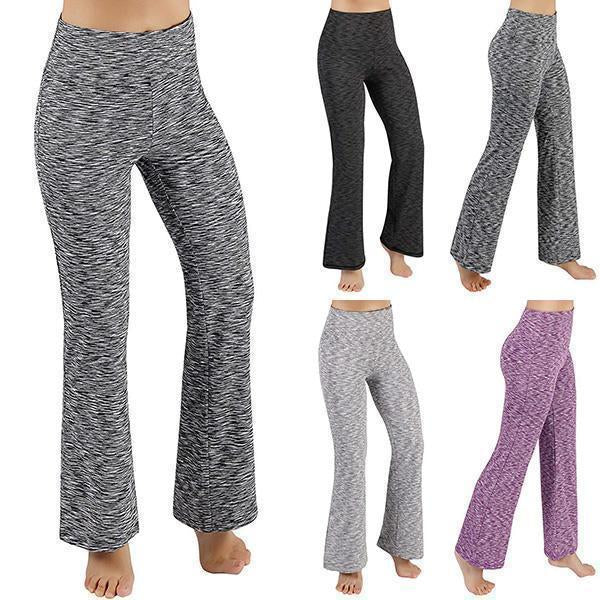 Fashion Casual Pattern Elastic High Waist Yoga Pants