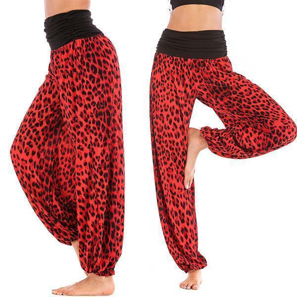 Super Soft Causal Elastic Baggy Harem Pants