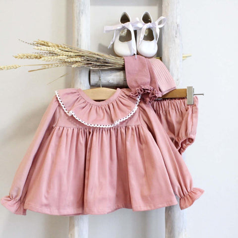 Pukatuka Dusty Pink Corduroy Set