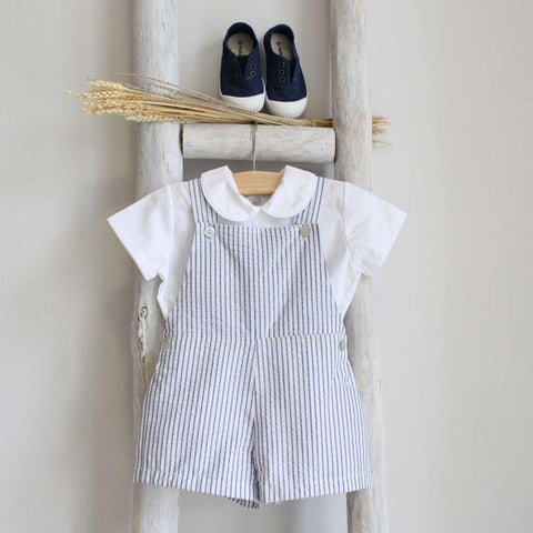 Pukatuka Navy Stripes Shortall
