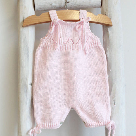 Pukatuka Organic Cotton Romper with Ties