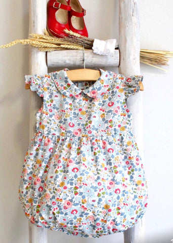 Pukatuka Liberty Floral Romper/Dress