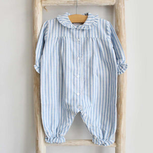 Pukatuka Ticking Stripe Baby Pajamas Boy/Girl