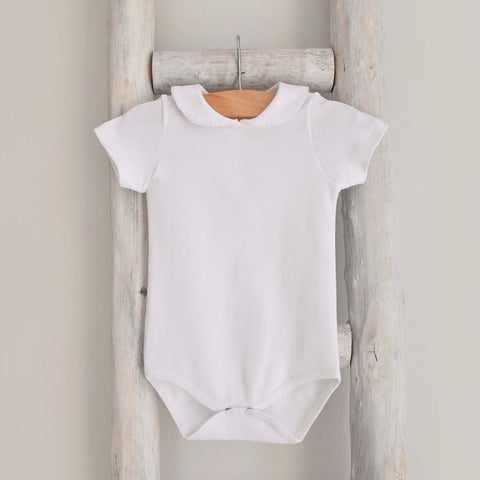 Pukatuka Peter Pan Collar Onesie