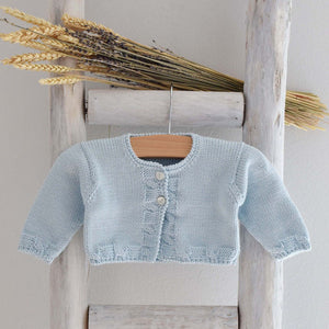 Pukatuka Organic Cotton Cardigan- Blue