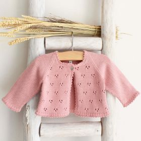 Pukatuka Knit Cardigan- Rose Pink