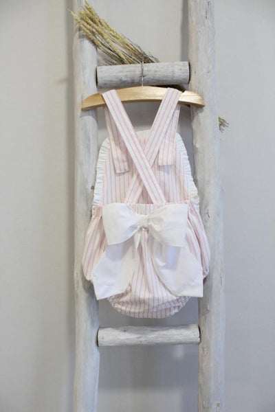 Pukatuka Pink Stripe Sunsuit