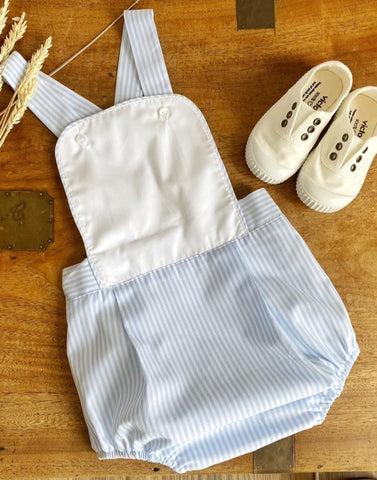 Pukatuka Blue Stripe Sunsuit