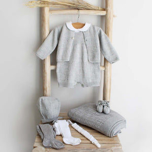 Pukatuka Gray Knit Cardigan