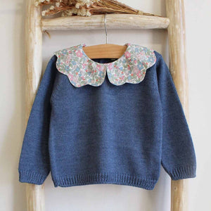 Pukatuka Liberty Betsy Berry Collar Sweater