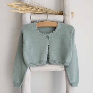 Pukatuka One Button Knit Cardigan