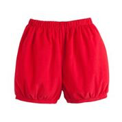 Little English Banded Shorts- Red Corduroy