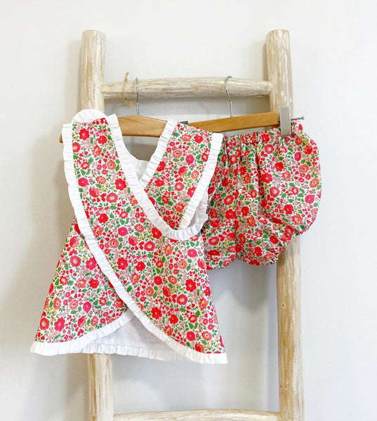 Pukatuka Liberty Sunsuit Set