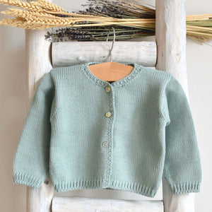 Pukatuka Green Knit Cardigan