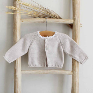Pukatuka Organic Cotton Gray Knit Cardigan