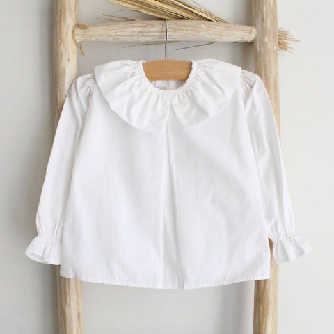 Pukatuka Frilly White Collar Shirt