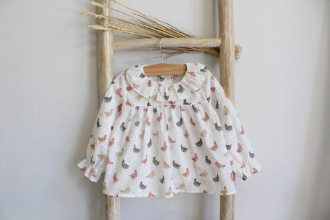 Pukatuka Chicken Blouse