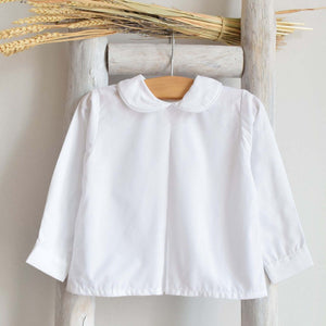 Pukatuka Peter Pan Shirt- White