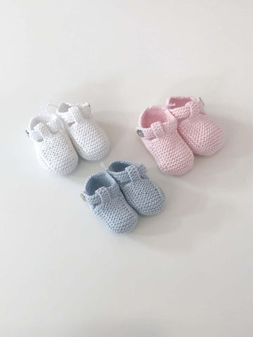 Pukatuka Knit Booties