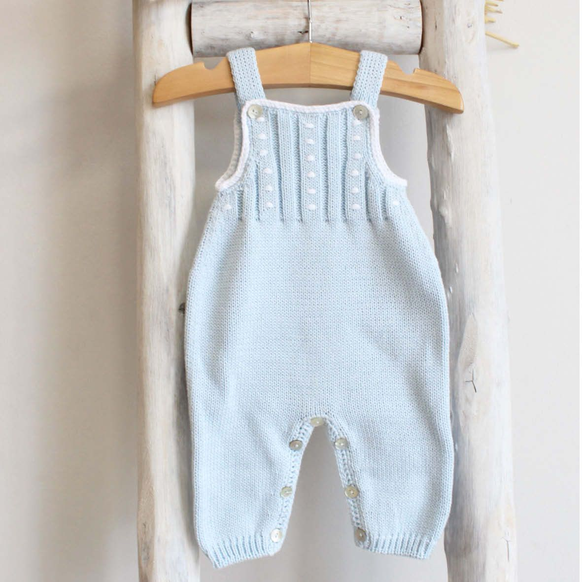 Pukatuka Blue Cotton Romper 6m