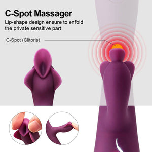 Pulsating G-Spot Vibrator - Cupid's Rack
