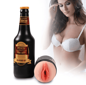 Discreet Beer Bottle Intoxicated Temptations Stroker - Cupid's Rack