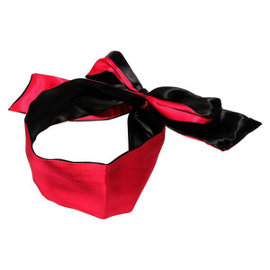 Satin Ruby Blindfold - Cupid's Rack