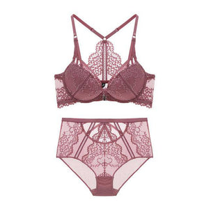 Luxe Floral Lingerie Set - Cupid's Rack
