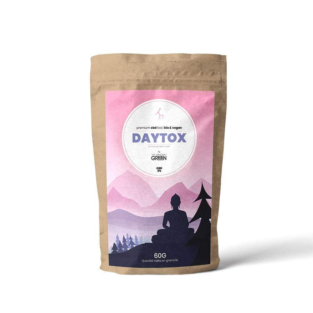 The Original Green® Daytox® - Tisane CBD