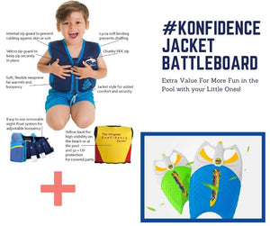 The Konfidence Jacket™ BATTLEBOARD Bundle #KonfidenceJacketBattleboard
