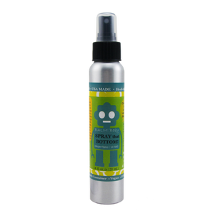 SPRAY THAT BOTTOM! Natural Diaper Rash & All Purpose Skin Aid Spray- (4oz/120ml)
