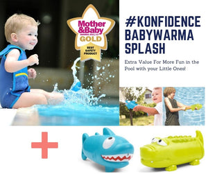 The Konfidence BabyWarma™ SPLASH Bundle #KonfidenceBabyWarmaSplash