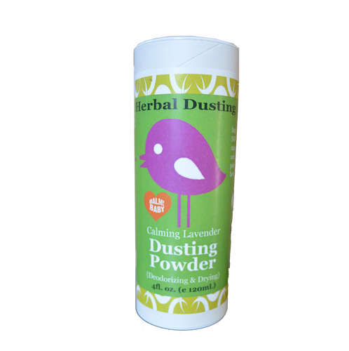 Herbal Dusting Powder (All Natural Talc Free) Lavender Scent - (4oz/120ml)