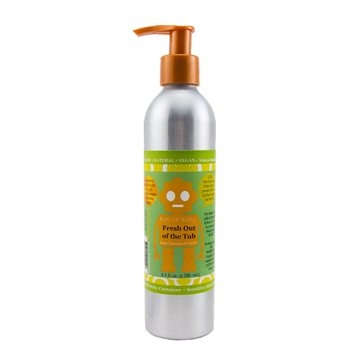 Shampoo Wash & Bubble Bath (9.5oz/280ml)