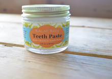 Load image into Gallery viewer, Natural Sugar Free Teeth Paste for Babies, Toddlers and Kids (2oz/60ml)