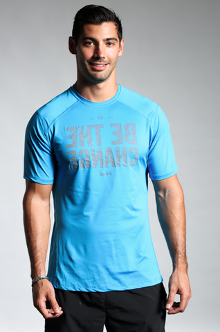 Men's UltraCool Performance Tee Blue