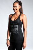Women's Ultracool performance tank black