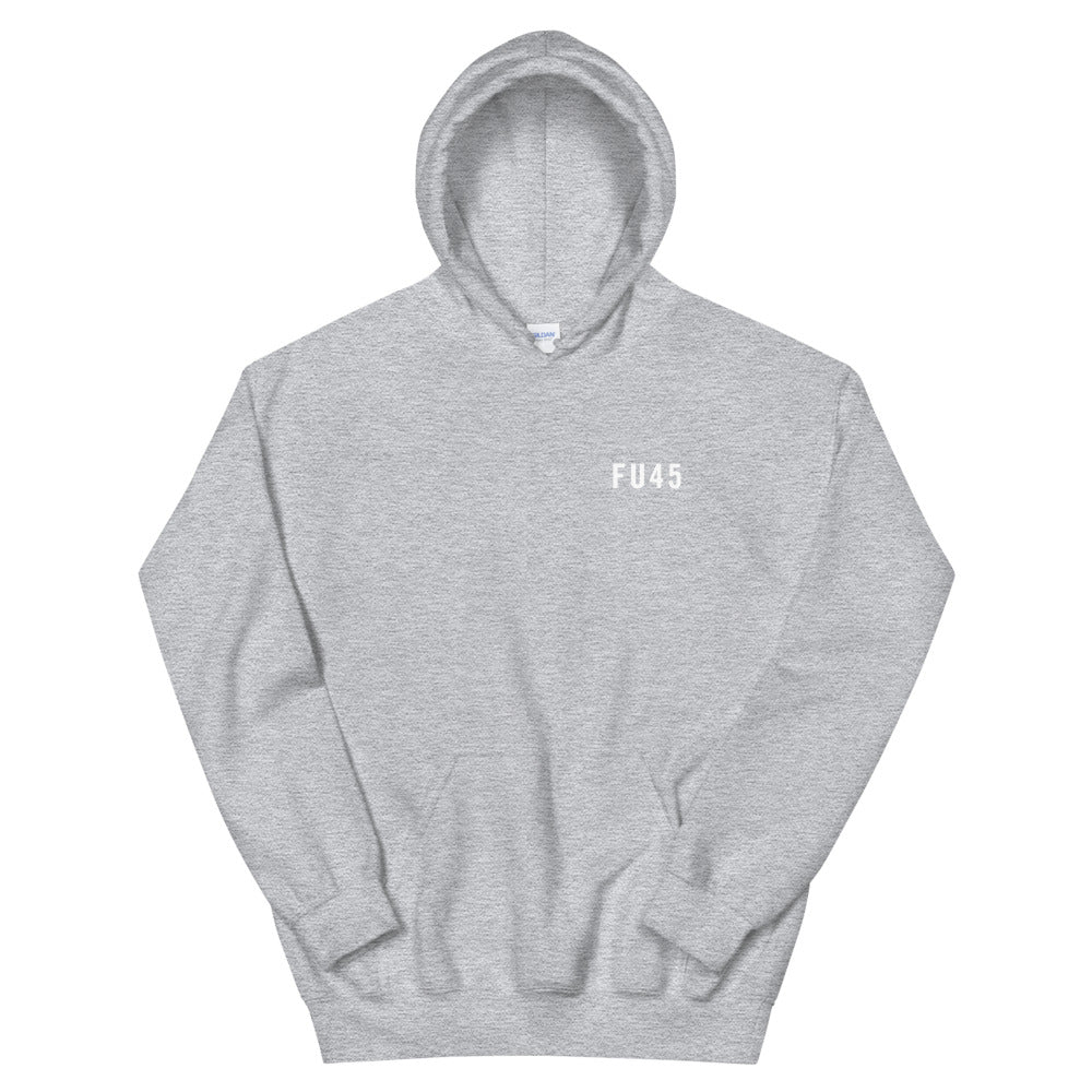 FU45 Hooded Sweatshirt Grey