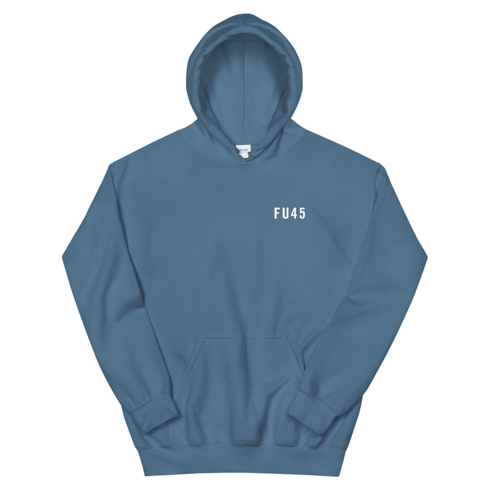 FU45 Hooded Sweatshirt Blue