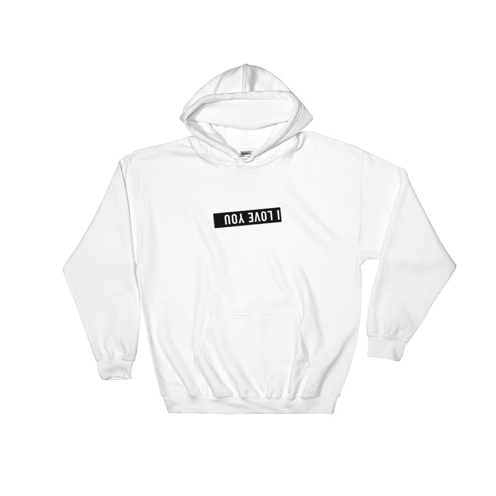 Hooded I Love You Sweatshirt