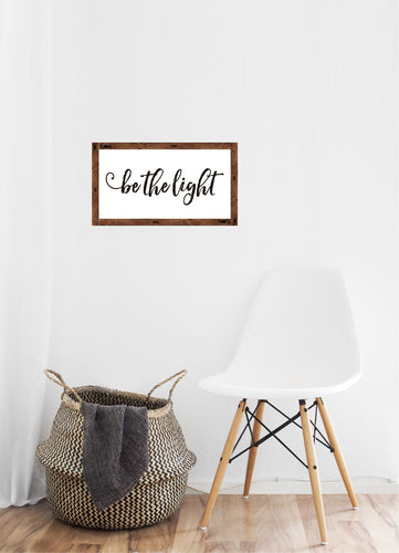 Be the Light - Creative Art Bar