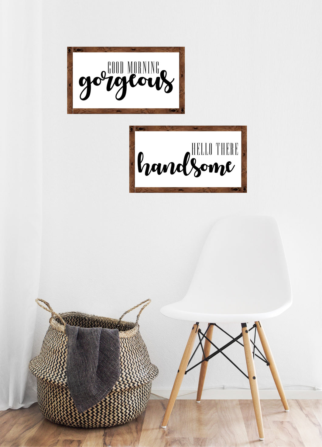 Good Morning Gorgeous, Hello There Handsome - Creative Art Bar