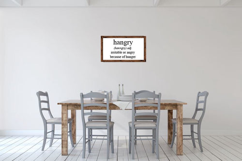 Hangry Definition - Creative Art Bar