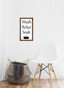 Wash, Relax and Soak - Creative Art Bar
