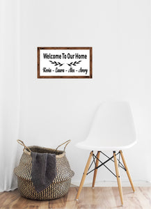 Welcome to our home - Creative Art Bar