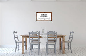 Coffee Definition - Creative Art Bar