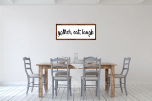 Gather, Eat, Laugh - Creative Art Bar