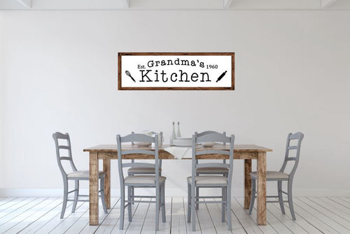 Grandma's Kitchen - Creative Art Bar