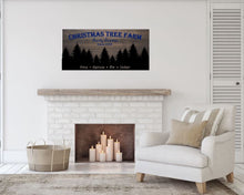 Load image into Gallery viewer, Christmas Tree Farm - Creative Art Bar